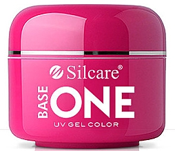 Parfémy, Parfumerie, kosmetika Gel na nehty - Silcare Base One Black Diamond