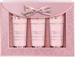 Parfémy, Parfumerie, kosmetika Sada - Baylis & Harding Jojoba, Vanilla & Almond Oil Hand Cream Set (h/cr/50mlx3)