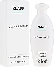 Parfémy, Parfumerie, kosmetika Exfoliator pro suchou pokožku - Klapp Clean & Active Exfoliator Dry Skin