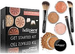 Parfémy, Parfumerie, kosmetika Základní make-up sada - Bellapierre Get Started Kit Deep