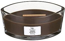 Parfémy, Parfumerie, kosmetika Vonná svíčka ve sklenici - Woodwick Hearthwick Flame Ellipse Candle Oudwood