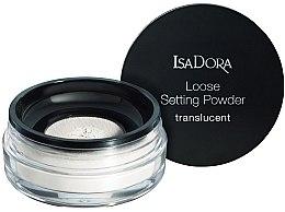 Parfémy, Parfumerie, kosmetika Transparentní sypký pudr na obličej - IsaDora Loose Setting Powder Translucent