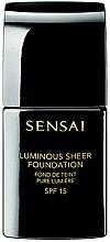 Parfémy, Parfumerie, kosmetika Rozjasňující tekutý make-up - Kanebo Sensai Luminous Sheer Foundation