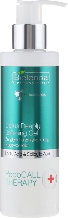 Gel hluboko změkčující zrohovatělou kůži chodidel - Bielenda Professional PodoCall Therapy Callus Deeply Softening Gel