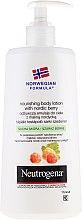 Parfémy, Parfumerie, kosmetika Tělové mléko - Neutrogena Nourishing Body Lotion With Nordic Berry Normal To Dry Skin