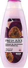 Parfémy, Parfumerie, kosmetika Krémový sprchový gel Šťáva z maracuji a magnolie - Fresh Juice Creamy Shower Gel Passion Fruit & Magnolia