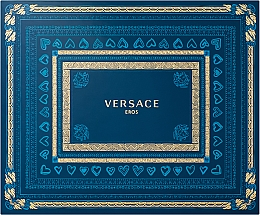 Parfémy, Parfumerie, kosmetika Versace Eros - Sada (edt/50ml + shower gel/50ml + after shave/50ml)