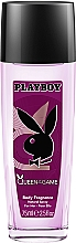 Parfémy, Parfumerie, kosmetika Playboy Queen Of The Game - Deodorant-sprej