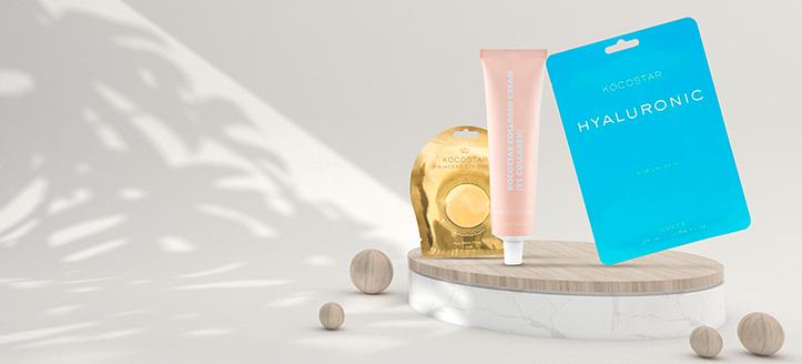 Získej pleťovou masku jako dárek k nákupu produktů Kocostar v hodnotě nad 307 Kč