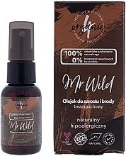 Parfémy, Parfumerie, kosmetika Olej na vlasy a vousy, bez vůně, hypoalergenní - 4Organic Mr Wild