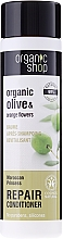 """Parfémy, Parfumerie, kosmetika Balzám na vlasy """"Obnova. Marocká princezna"""" - Organic Shop Organic Olive and Argan Oil Repair Conditioner"""