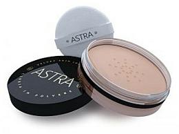 Parfémy, Parfumerie, kosmetika Sypký pudr na obličej - Astra Make-Up Velvet Skin Loose Powder