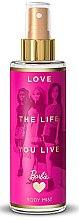 Parfémy, Parfumerie, kosmetika Sprej na tělo pro děri - Bi-Es Barbie Love The Life Body Mist