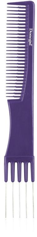 Hřeběn na vlasy 19,4 cm, fialový - Donegal Hair Comb