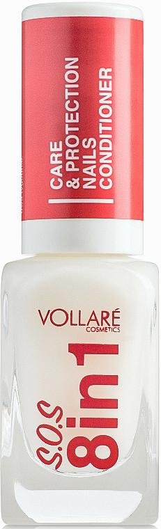 Léčivý přípravek na nehty - Vollare Cosmetics SOS 8in1