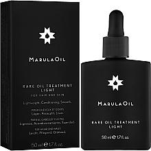 Parfémy, Parfumerie, kosmetika Marula olej pro normální vlasy - Paul Mitchell Marula Oil Rare Oil Treatment Lite