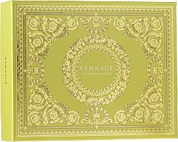 Parfémy, Parfumerie, kosmetika Versace Yellow Diamond - Sada (edt/50ml + b/lot/50ml + sh/gel/50ml)