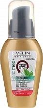 Parfémy, Parfumerie, kosmetika Antibakteriální gel na ruce s čajovníkovým olejem, 70% alkohol - Eveline Cosmetics Handmed+, 70% Alcohol
