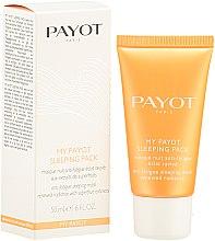 Noční maska pro únavě a pro zář pleti - Payot My Payot Sleeping Pack — foto N2