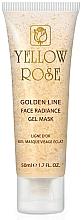 Parfémy, Parfumerie, kosmetika Gelová maska na obličej se zlatem (tuba) - Yellow Rose Golden Line Face Radiance Gel Mask