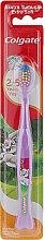 Parfémy, Parfumerie, kosmetika Dětský zubní kartáč měkký, od 2 let, fialový králík - Colgate Kids 2Y+ Toothbrush Extra Soft