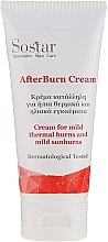 Parfémy, Parfumerie, kosmetika Krém proti lehkým slunečním a termickým spáleninám - Sostar After Burn Cream