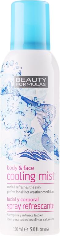 Chladicí sprej na obličej a tělo - Beauty Formulas Cooling Mist Spray
