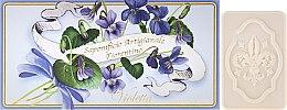Parfémy, Parfumerie, kosmetika Dárkové mýdlo- sada Fialka - Saponificio Artigianale Fiorentino Violet