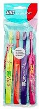 Parfémy, Parfumerie, kosmetika Sada zubních kartáčků - TePe Kids X-Soft