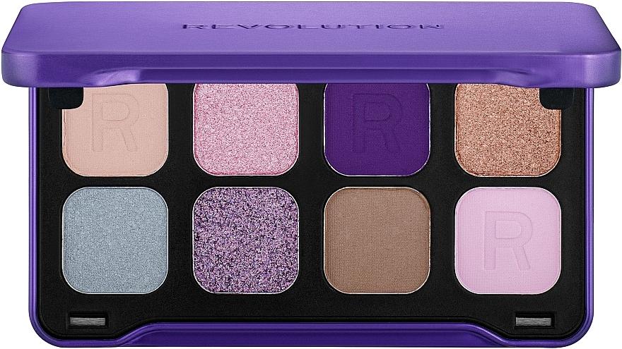 Paleta očních stínů, 8 odstínů - Makeup Revolution Forever Flawless Dynamic