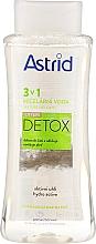 Parfémy, Parfumerie, kosmetika Micelární voda pro normální až mastnou pleť - Astrid CityLife Detox 3v1