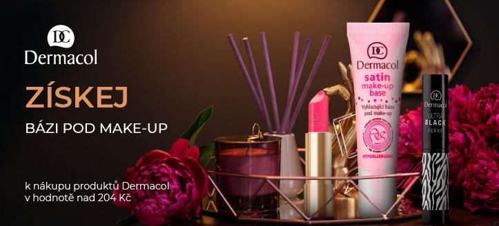 Získej bázi pod make-up jako dárek k nákupu produktů Dermacol v hodnotě nad 204 Kč