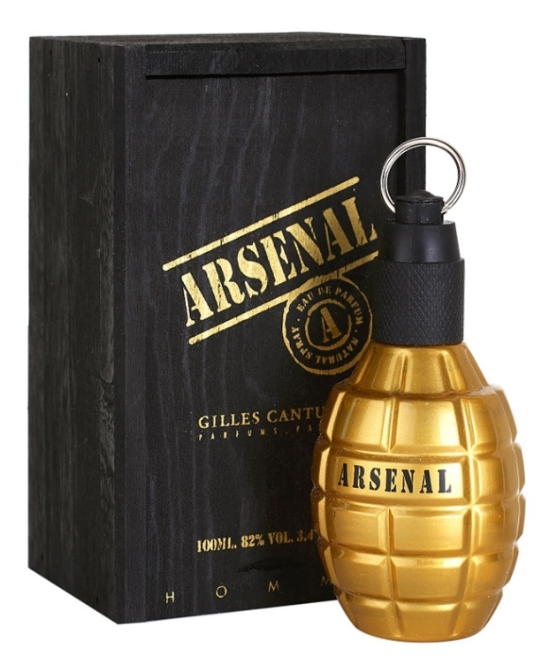 Gilles Cantuel Arsenal Gold - Parfémovaná voda — foto N2