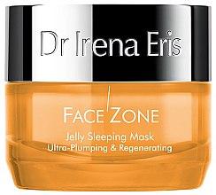 Parfémy, Parfumerie, kosmetika Maska na obličej - Dr Irena Eris Face Zone Jelly Sleeping Mask Ultra-Plumping & Regenerating