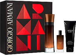 Parfémy, Parfumerie, kosmetika Giorgio Armani Armani Code Profumo - Sada (edp/110ml + edp/15ml + sh/gel/75ml)