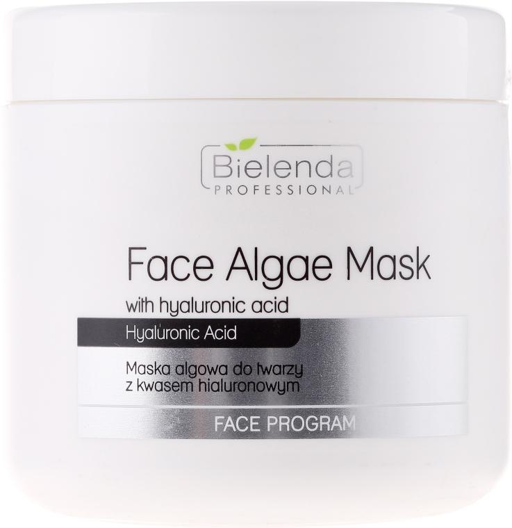 Alginátová obličejová maska s kyselinou hyaluronovou - Bielenda Professional Face Algae Mask with Hyaluronic Acid