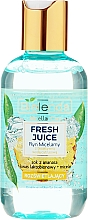 Parfémy, Parfumerie, kosmetika Rozjasňující micelární voda - Bielenda Fresh Juice Micellar Water Pineapple