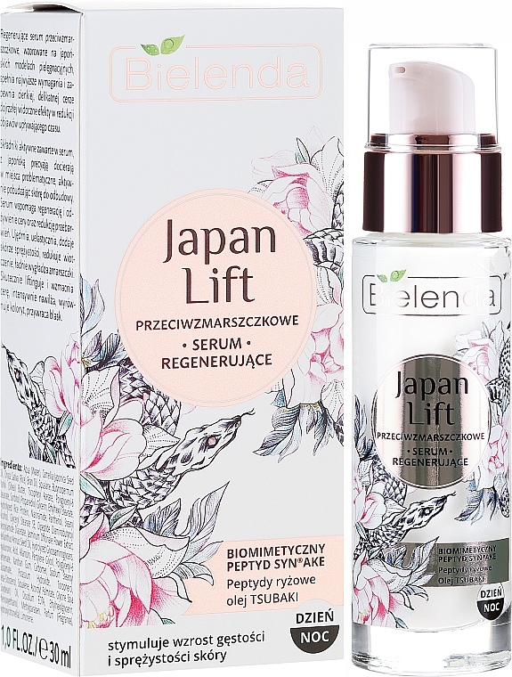 Obnovující sérum proti vráskám - Bielenda Japan Lift Serum — foto N1