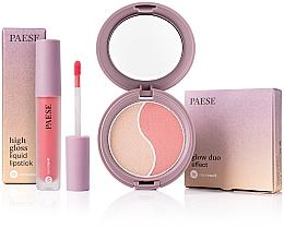 Parfémy, Parfumerie, kosmetika Sada - Paese (f/poud/4.5g + liquid/lipstick/4.5ml)