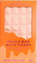 "Parfémy, Parfumerie, kosmetika Koupelová bomba - I Heart Revolution Chocolate Bar Bath Fizzer ""Peach"""