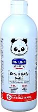 Parfémy, Parfumerie, kosmetika Pěna do koupele a sprchový gel, antibakteriální - On Line Kids Time Bath & Body Wash Antibacterial