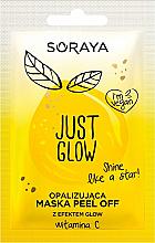 Parfémy, Parfumerie, kosmetika Duhová exfoliační maska s třpytivým efektem - Soraya Just Glow