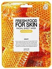 Parfémy, Parfumerie, kosmetika Plátýnková pleťová maska Med - Superfood For Skin Facial Sheet Mask Honey Strenghtening