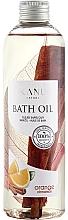 Parfémy, Parfumerie, kosmetika Olej do koupele Pomeranč a skořice - Kanu Nature Bath Oil Orange Cinnamon