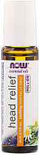 Parfémy, Parfumerie, kosmetika Olej proti bolestem hlavy, roll-on - Now Foods Essential Oils Head Relief Roll-On