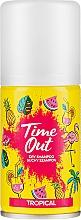 Parfémy, Parfumerie, kosmetika Suchý šampon na vlasy - Time Out Dry Shampoo Tropical