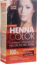 Parfémy, Parfumerie, kosmetika Odolná krém-barva na vlasy s hennou - Fito Kosmetik Henna Color