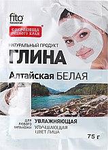 """Parfémy, Parfumerie, kosmetika Hlína na obličej a tělo """"Altaj"""" bílá, hydratační - Fito Kosmetik"""