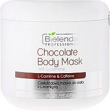 Parfémy, Parfumerie, kosmetika Čokoládová tělová maska s L-karnitinem - Bielenda Professional Chocolate Body Mask