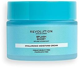 Parfémy, Parfumerie, kosmetika Hydratační pleťový krém s kyselinou hyaluronovou - Revolution Skincare Splash Boost with Hyaluronic Acid
